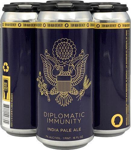 Thin Man Diplomatic Immunity 16oz. Can