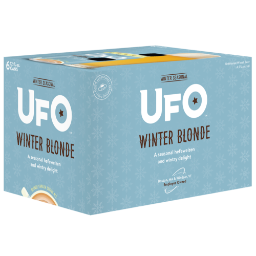 Harpoon UFO Winter Blonde 12oz. Can