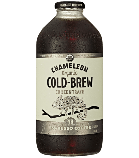 Chameleon Organic Cold Brew Espresso Coffee Concentrates - 32oz. - Greenwich Village Farm