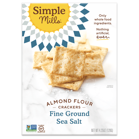 Simple Mill Almond Flour Crackers Sea Salt 4.25oz. - Greenwich Village Farm