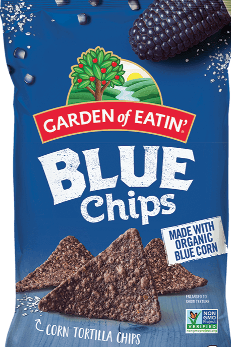 Garden of Eatin'  Blue Corn Tortilla Chips 8.1oz. - Greenwich Village Farm