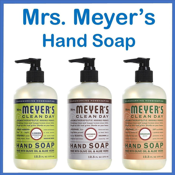 Mrs. Meyers Hand Soap 12.5 oz.