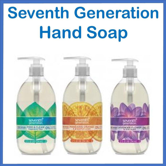 Seventh Generation Hand Soap 120z.