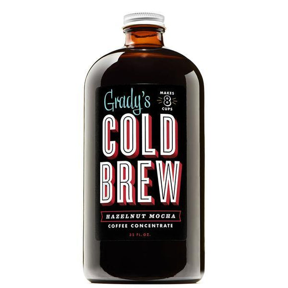 Grady's Cold Brew Coffee  Hazelnut Mocha 32oz. - Greenwich Village Farm