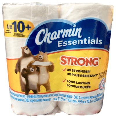 Charmin Essential Strong 4 Pack - Greenwich Village Farm