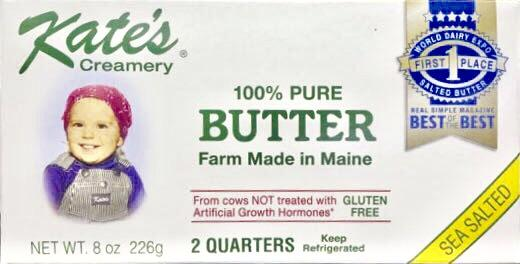 Kate's Creamery Butter Salted 8oz. - Greenwich Village Farm