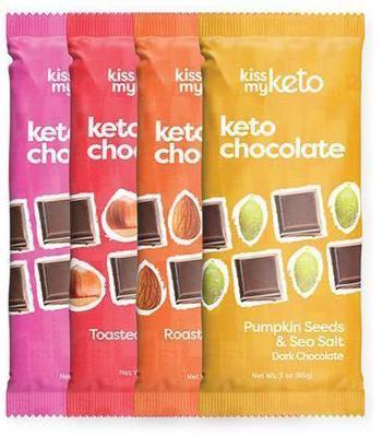 Kiss My Keto Chocolate 3oz. - Greenwich Village Farm