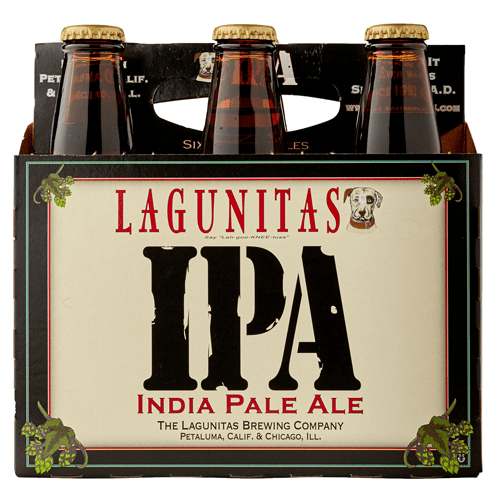 Lagunitas IPA - 12oz. Bottle - Greenwich Village Farm
