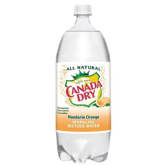 Canada Dry seltzer Mandarin Orange 1 Liter - Greenwich Village Farm
