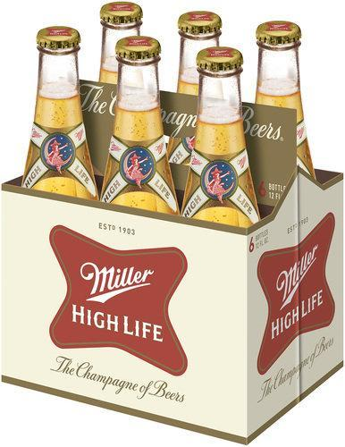 Miller High Life 12oz. Bottle - Greenwich Village Farm