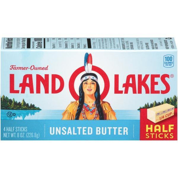 Land O Lake Butter Unsalted 8oz. - Greenwich Village Farm