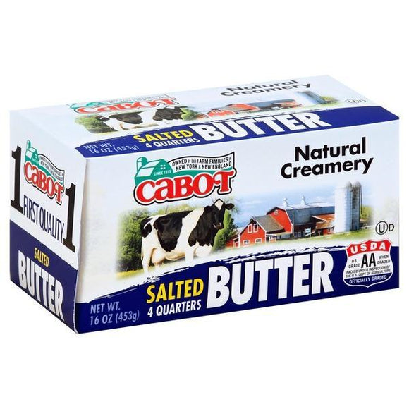 Cabot Butter Salted 16oz. - Greenwich Village Farm