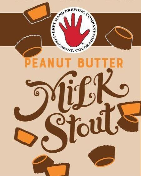 Left Hand Milk Stout Peanut Butter 12oz. Bottle - Greenwich Village Farm