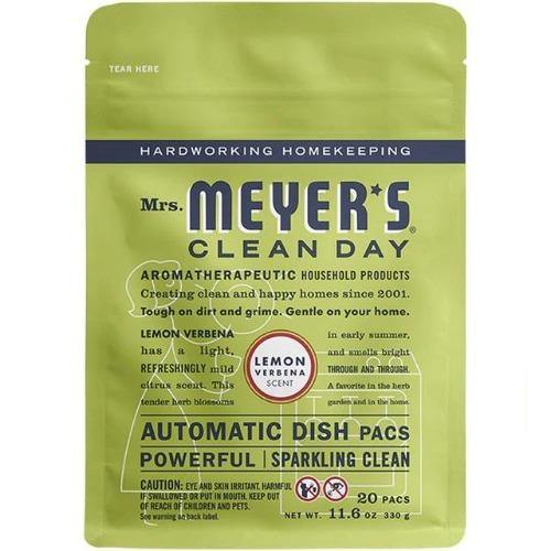 Mrs. Meyers Dishwasher Soap Pacs 11.6oz. - Greenwich Village Farm