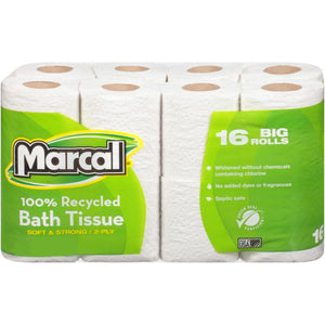 Marcal Toilet Paper 16 Pack - Greenwich Village Farm