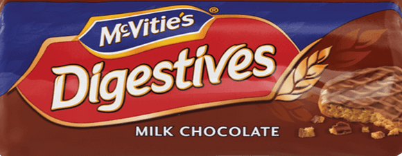 Mc Vities Digestives Milk Chocolate 10.5oz. - Greenwich Village Farm
