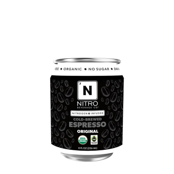 Nitro Beverage Cold Brew Espresso 8oz. - Greenwich Village Farm
