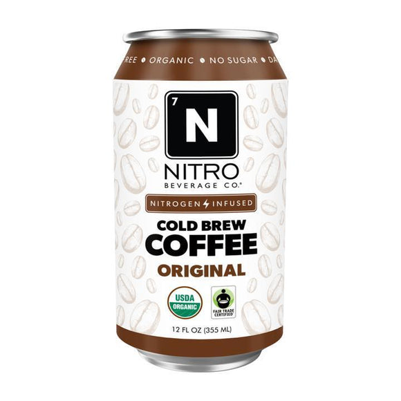 Nitro Beverage Cold Brew Original Coffee 12oz. - Greenwich Village Farm