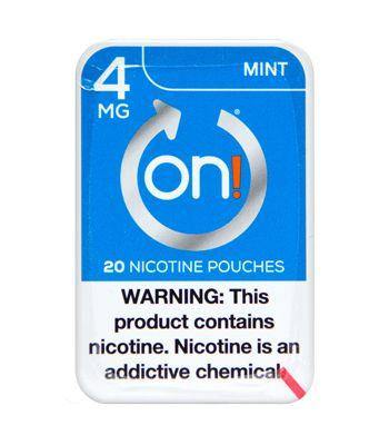 On! Nicotine Pouches Mint 4mg. - Greenwich Village Farm