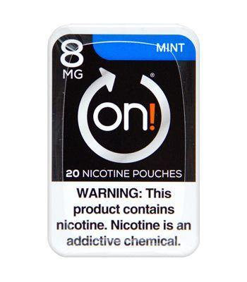 On! Nicotine Pouches Mint 8mg. - Greenwich Village Farm