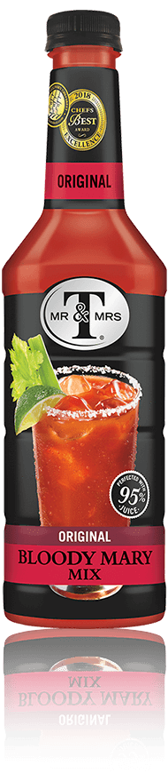 Mr. & Mrs. T Bloody Mary Mix - 33.8 oz. - Greenwich Village Farm
