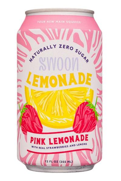 Swoon Pink Lemonade 12oz. - Greenwich Village Farm
