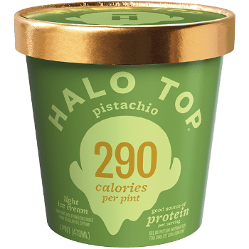 Halo Top Ice Cream Pistachio 16oz. - Greenwich Village Farm