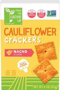 Ground Up Cauliflower Cracker Nacho 4oz. - Greenwich Village Farm