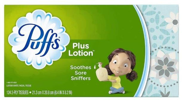 Puff's Plus Lotion Facial Tissue - Greenwich Village Farm