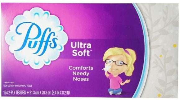 Puff's Ultra Soft Facial Tissue - Greenwich Village Farm