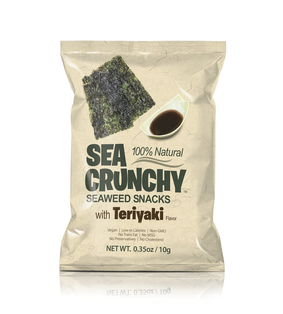 Sea Crunchy Seaweed Snacks Tariyaki 0.35oz. - Greenwich Village Farm