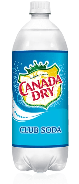 Canada Dry Club Soda 1 Liter - Greenwich Village Farm