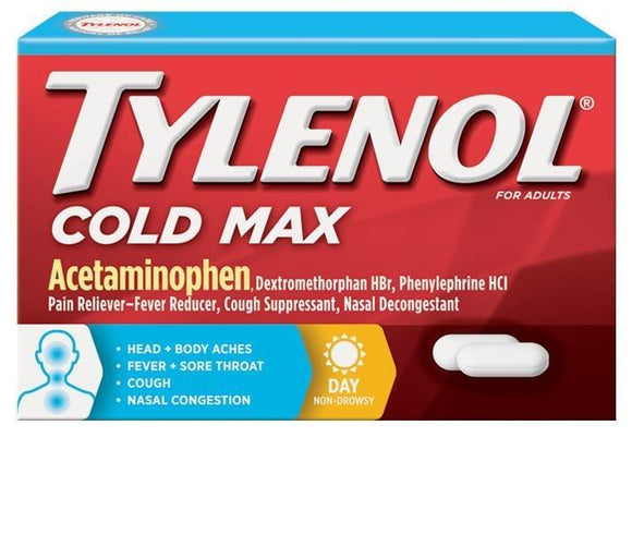 Tylenol Cold Max  24 Count - Greenwich Village Farm