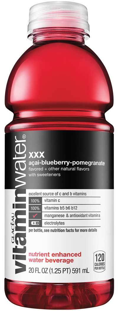 Vitamin Water XXX 20oz. - Greenwich Village Farm
