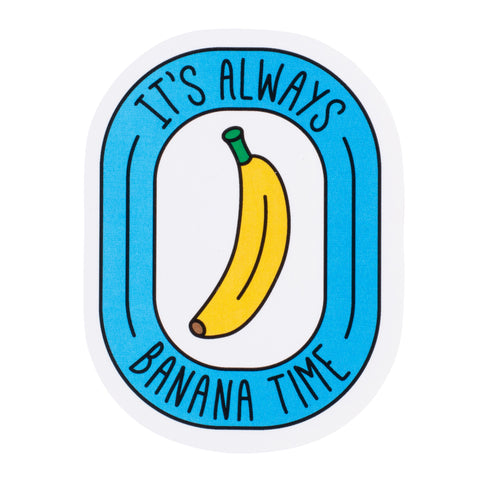 Banana Time Sticker