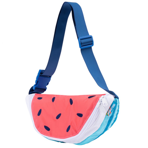 Blue Watermelon Fanny Pack