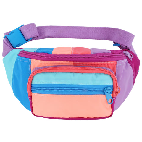 Cloud Burst Stripe Fanny Pack Sling