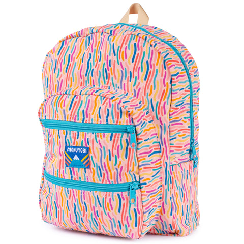 Confetti Blast Big Pocket Backpack