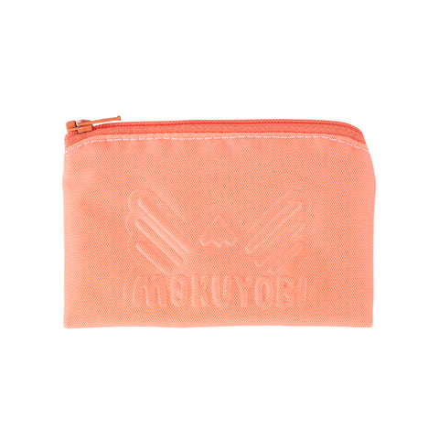 Coral Mini Coin Pouch