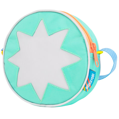 Digital Thrill Starburst Circle Purse