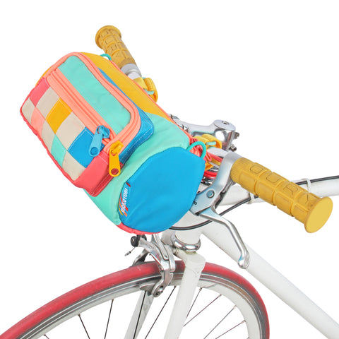 Dreamscape Checker Bike Barrel Bag