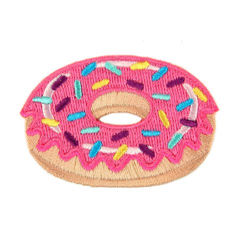 Donut Embroidered Sticker