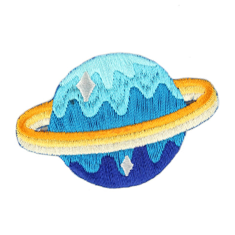 Planet Embroidered Sticker