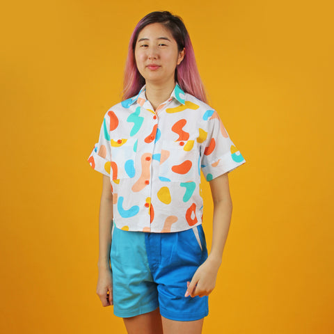 Happy Breakfast Airplane Blouse