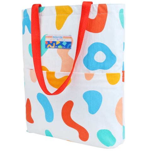 Happy Breakfast Laptop Handy Tote