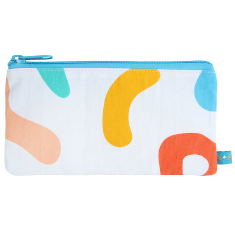 Happy Breakfast Pencil Zip Pouch