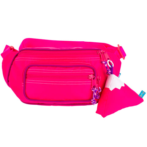 Hot Pink Fanny Pack Sling