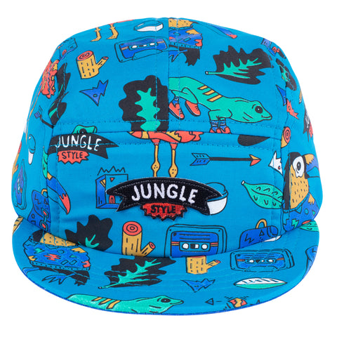 Jungle Style 5 Panel Hat