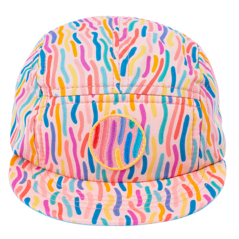 Confetti Blast 5 Panel Hat