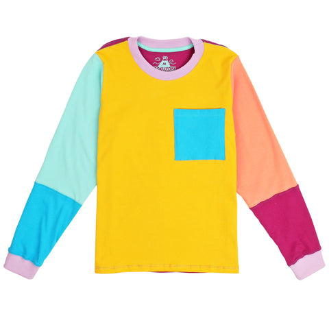 Jelly Bean Long Sleeve Tee